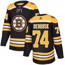 Jake DeBrusk Men's Boston Bruins Stitched Home Black Jersey
