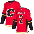 Al MacInnis Men's Calgary Flames Stitched Home Red Jersey