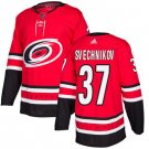 Hurricanes #37 Andrei Svechnikov Red Home Authentic Stitched Jersey