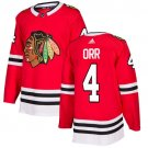 Bobby Orr Men's Chicago Blackhawks Stitched Home Red Jersey