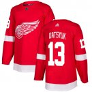 Pavel Datsyuk Men's Detroit Wings Stitched Home Red Jersey