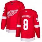 Justin Abdelkader Men's Detroit Wings Stitched Home Red Jersey