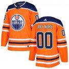 Customized Edmonton Oilers Men's Stitched Orange Home Jersey