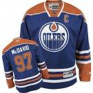 Connor McDavid Men's Edmonton Oilers Stitched Home C Patch Orange Jersey