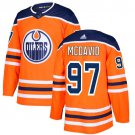 Connor McDavid Men's Edmonton Oilers Stitched Home Orange Jersey
