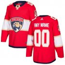 Customized Florida Panthers Men's Stitched Red Home Jersey