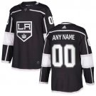 Customized Los Angeles Kings Men's Stitched Black Home Jersey