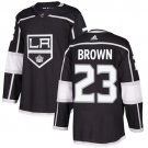 Dustin Brown Men's Los Angeles Kings Stitched Home Black Jersey