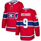 Maurice Richard Men's Montreal Canadiens Stitched Home Red Jersey