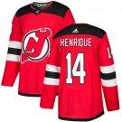 Adam Henrique Men's New Jersey Devils Stitched Home Red Jersey