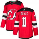 Brian Boyle Men's New Jersey Devils Stitched Home Red Jersey