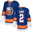 Nick Leddy Men's New York Islanders Stitched Royal Home Blue Jersey