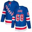 Jaromir Jagr Men's New York Rangers Stitched Royal Home Blue Jersey