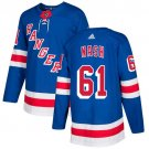 Rick Nash Men's New York Rangers Stitched Royal Home Blue Jersey