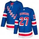 Ryan McDonagh Men's New York Rangers Stitched Royal Home Blue Jersey