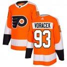 Jakub Voracek Men's Philadelphia Flyers Stitched Home Orange Jersey