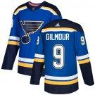 Doug Gilmour Men's St  Louis Blues Stitched Royal Home Blue Jersey