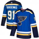 Vladimir Tarasenko Men's St  Louis Blues Stitched Royal Home Blue Jersey