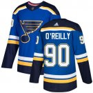 Ryan O'Reilly Men's St Louis Blues Stitched Home Navy Blue Jersey