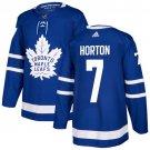 Tim Horton Men's Toronto Maple Leafs Stitched Royal Home Blue Jersey