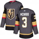 Brayden McNabb Men's Vegas Golden Knights Stitched Home Gray Jersey