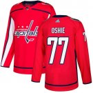 T J  Oshie Men's Washington Capitals Stitched Home Red Jersey