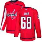 Jaromir Jagr Men's Washington Capitals Stitched Home Red Jersey
