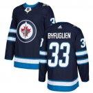 Dustin Byfuglien Men's Winnipeg Jets Stitched Home Navy Blue Jersey