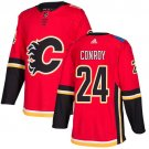 Craig Conroy Men's Calgary Flames Stitched Home Red Jersey