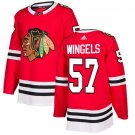Tommy Wingels Men's Chicago Blackhawks Stitched Home Red Jersey