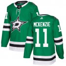 Curtis McKenzie Men's Dallas Stars Stitched Home Green Jersey