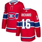 Henri Richard Men's Montreal Canadiens Stitched Home Red Jersey