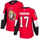 Nate Thompson Men's Ottawa Senators Stitched Home Red Jersey