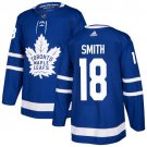Ben Smith Men's Toronto Maple Leafs Stitched Royal Home Blue Jersey