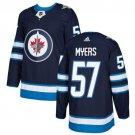Tyler Myers Men's Winnipeg Jets Stitched Home Navy Blue Jersey