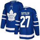 Darryl Sittler Men's Toronto Maple Leafs Stitched Royal Home Blue Jersey