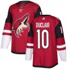 Anthony Duclair Men's Arizona Coyotes Stitched Burgundy Home Red Jersey