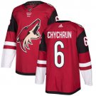 Jakob Chychrun Men's Arizona Coyotes Stitched Burgundy Home Red Jersey