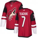 Keith Tkachuk Men's Arizona Coyotes Stitched Burgundy Home Red Jersey