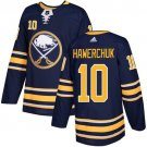 Dale Hawerchuk Men's Buffalo Sabres Stitched Home Navy Blue Jersey