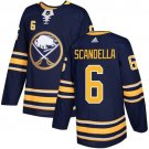 Marco Scandella Men's Buffalo Sabres Stitched Home Navy Blue Jersey