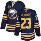 Sam Reinhart Men's Buffalo Sabres Stitched Home Navy Blue Jersey