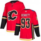 Sam Bennett Men's Calgary Flames Stitched Home Red Jersey