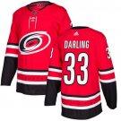 Scott Darling Men's Carolina Hurricanes Stitched Home Red Jersey