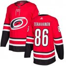 Teuvo Teravainen Men's Carolina Hurricanes Stitched Home Red Jersey