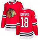 Denis Savard Men's Chicago Blackhawks Stitched Home Red Jersey