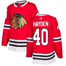 John Hayden Men's Chicago Blackhawks Stitched Home Red Jersey