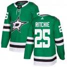 Brett Ritchie Men's Dallas Stars Stitched Home Green Jersey