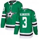 John Klingberg Men's Dallas Stars Stitched Home Green Jersey