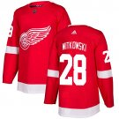 Luke Witkowski Men's Detroit Wings Stitched Home Red Jersey